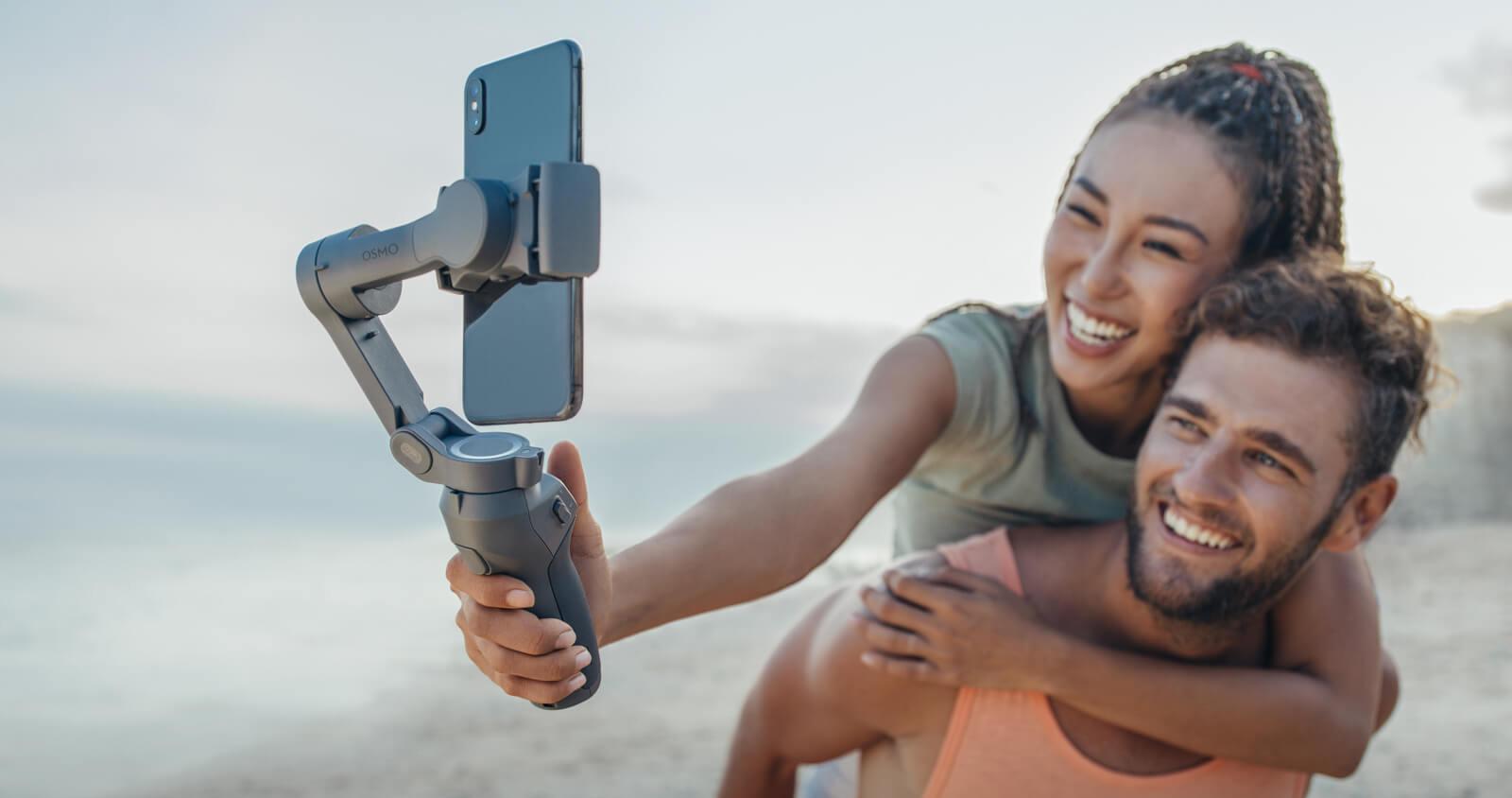 Osmo Mobile 3 Tek Elle Kontrol