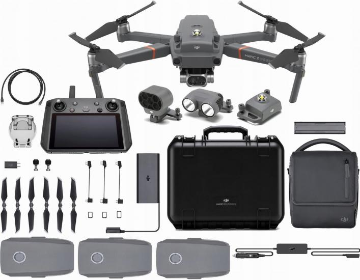 DJI STORE TURKİYE - DJI MAVIC 2 DUAL ENTERPRISE WİTH SMART CONTROLLER FLY MORE COMBO