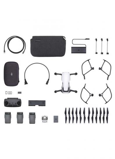 DJI STORE TURKİYE - DJI MAVIC AIR FLY MORE COMBO ( ARTCIC WHITE )