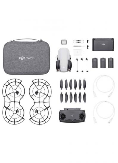 DJI STORE TURKİYE - DJI MAVIC MINI FLY MORE COMBO 64 GB SD Kart Hediyeli